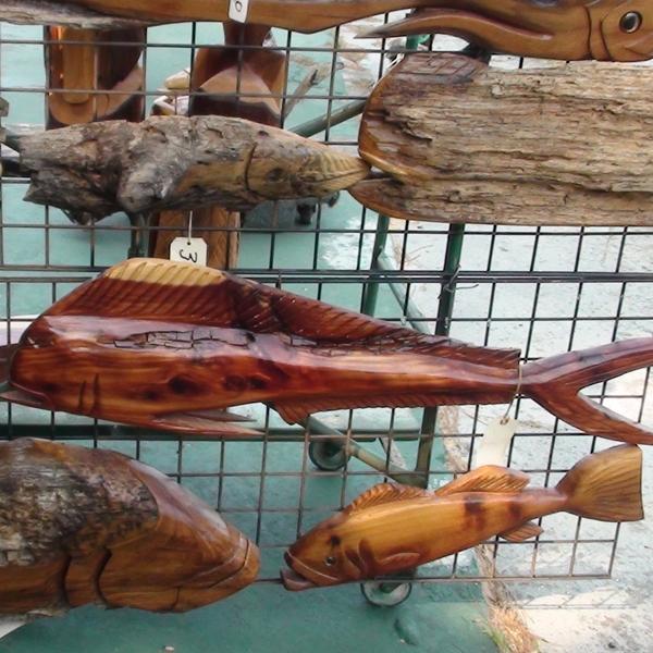 Rick and billy s carvings fernandina beach arts market